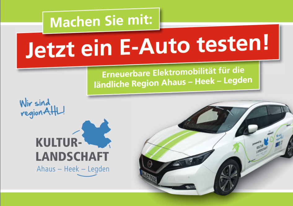 LEADER AHL e-Car-Sharing © LEADER AHL e-Car-Sharing